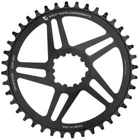 Wolf Tooth Flat Top Chainring DM SRAM black